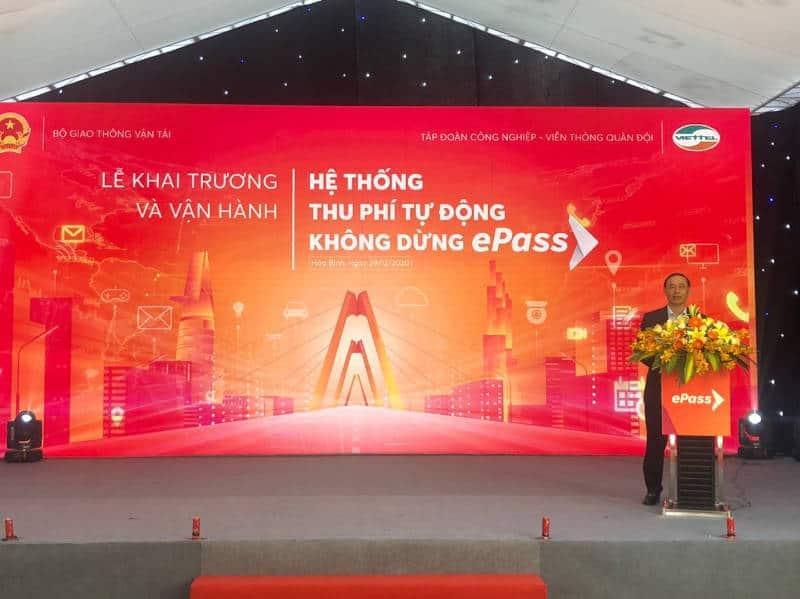 Thứ trưởng Bộ GTVT Lê Đình Thọ phát biểu chỉ đạo.