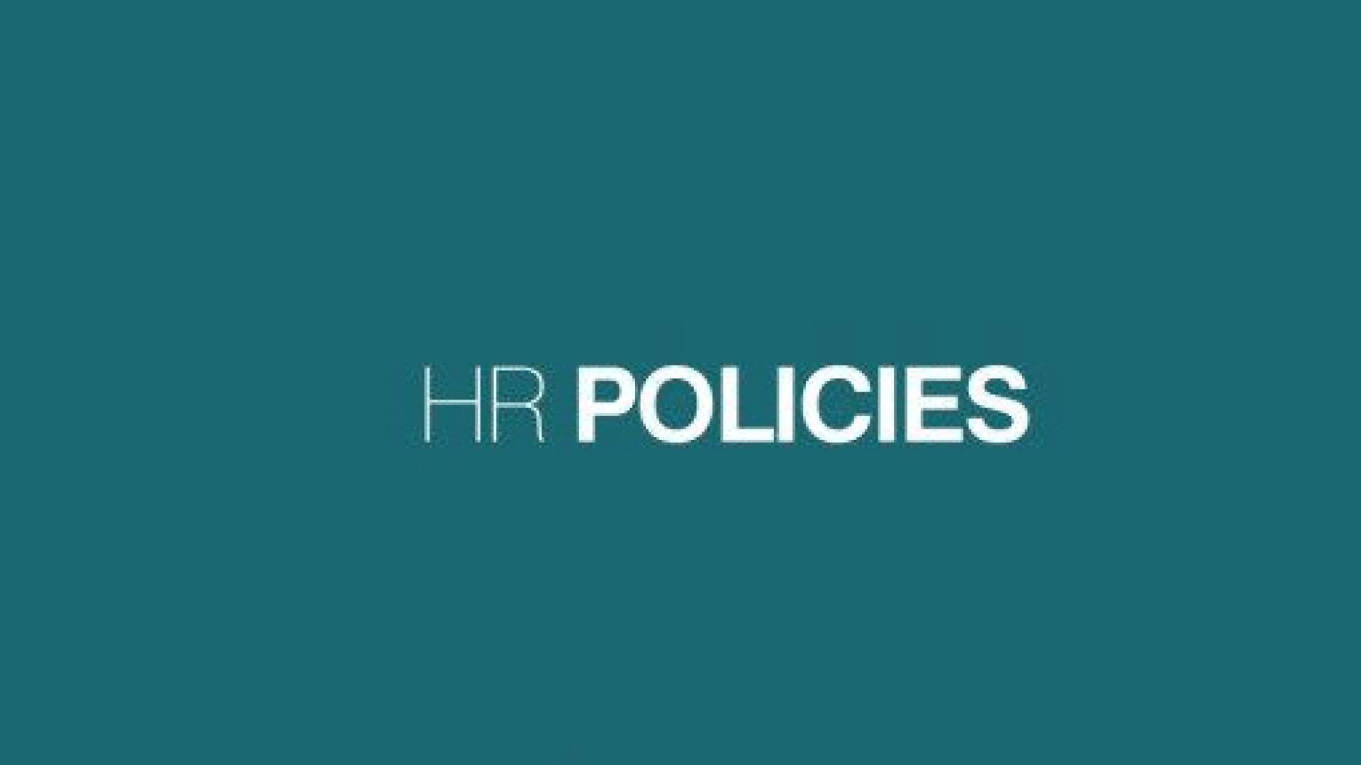 Chính sách nhân sự